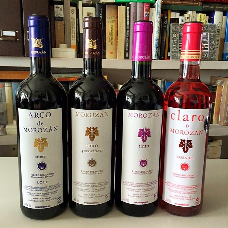 Colección de Vinos de Morozán (Ribera del Duero)