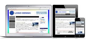 デバイスに応じてウェブサイトのデザインも変化