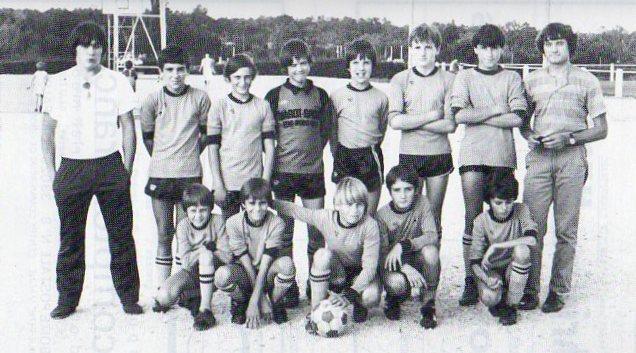 Minimes - Saison 1983/1984