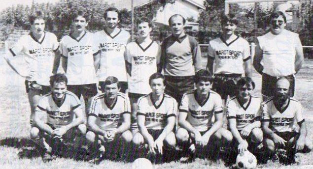 Equipe C - Saison 1986/1987