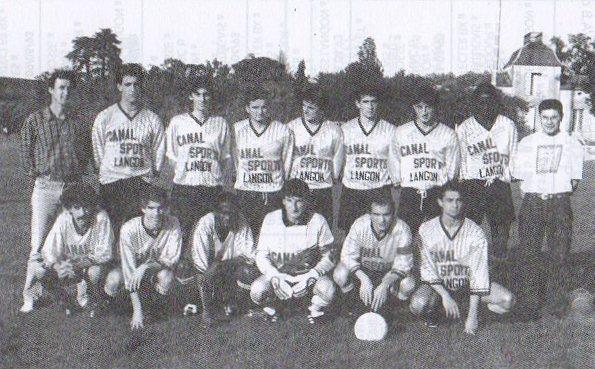 Equipe A - Saison 1992/1993