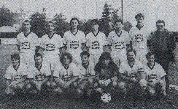 Equipe B - Saison 1991/1992