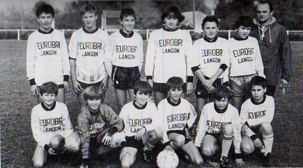 Minimes - Saison 1985/1986