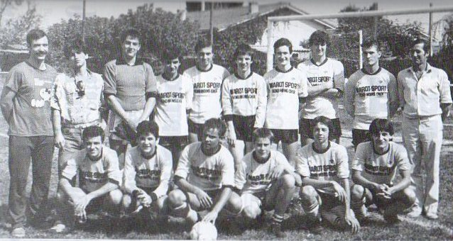 Juniors - Saison 1986/1987