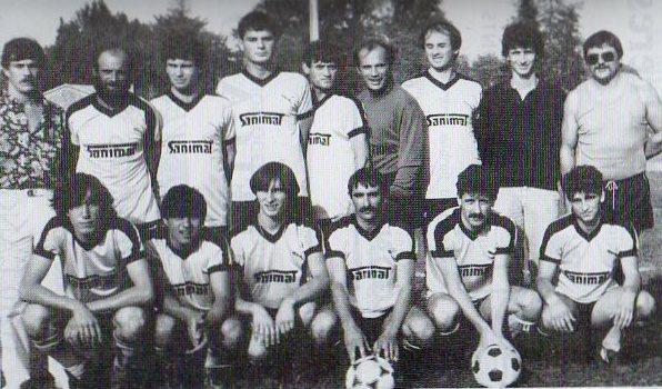 Equipe B - Saison 1985/1986