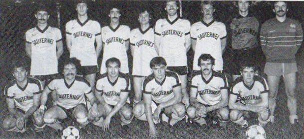 Sauternais - Saison 1984/1985