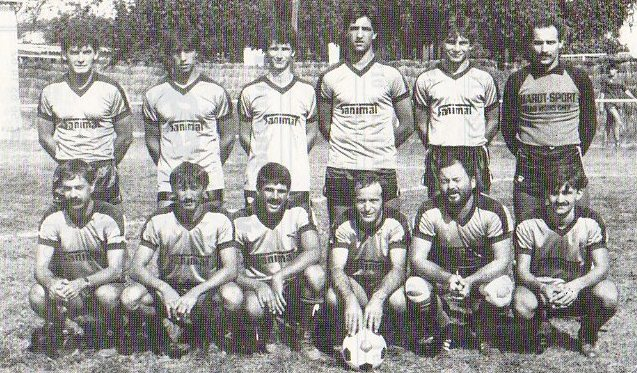Equipe B - Saison 1986/1987