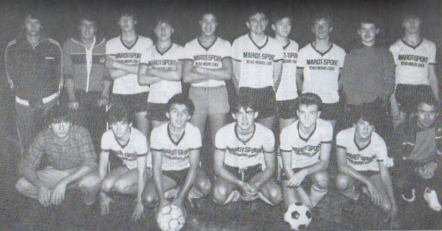 Juniors - Saison 1985/1986