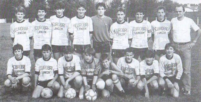 Cadets - Saison 1986/1987