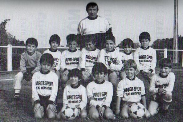 Poussins B - Saison 1985/1986