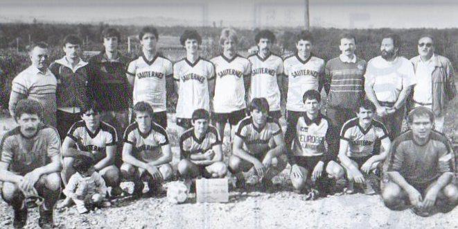 Equipe A2 - Saison 1985/1986