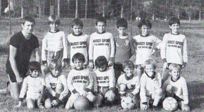Poussins - Saison 1983/1984