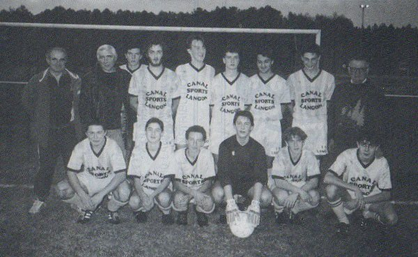 Juniors - Saison 1991/1992