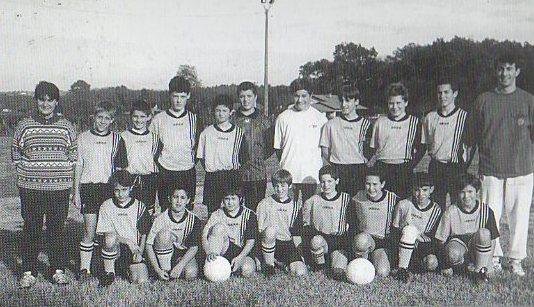 Moins de 13 ans - Saison 1997/1998