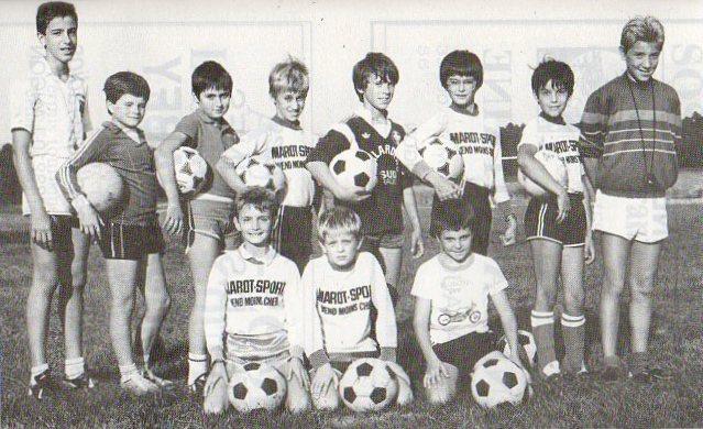 Pupilles - Saison 1986/1987
