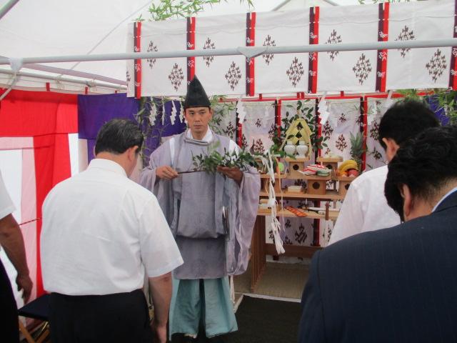 太子堂3丁目プロジェクト(Produced by FROM) / 地鎮祭