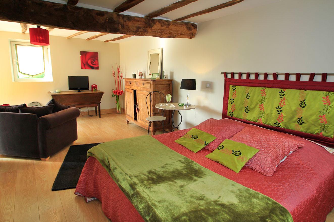 Maison-hôtes-Chambre-Mathilde-spacieuse-elegante