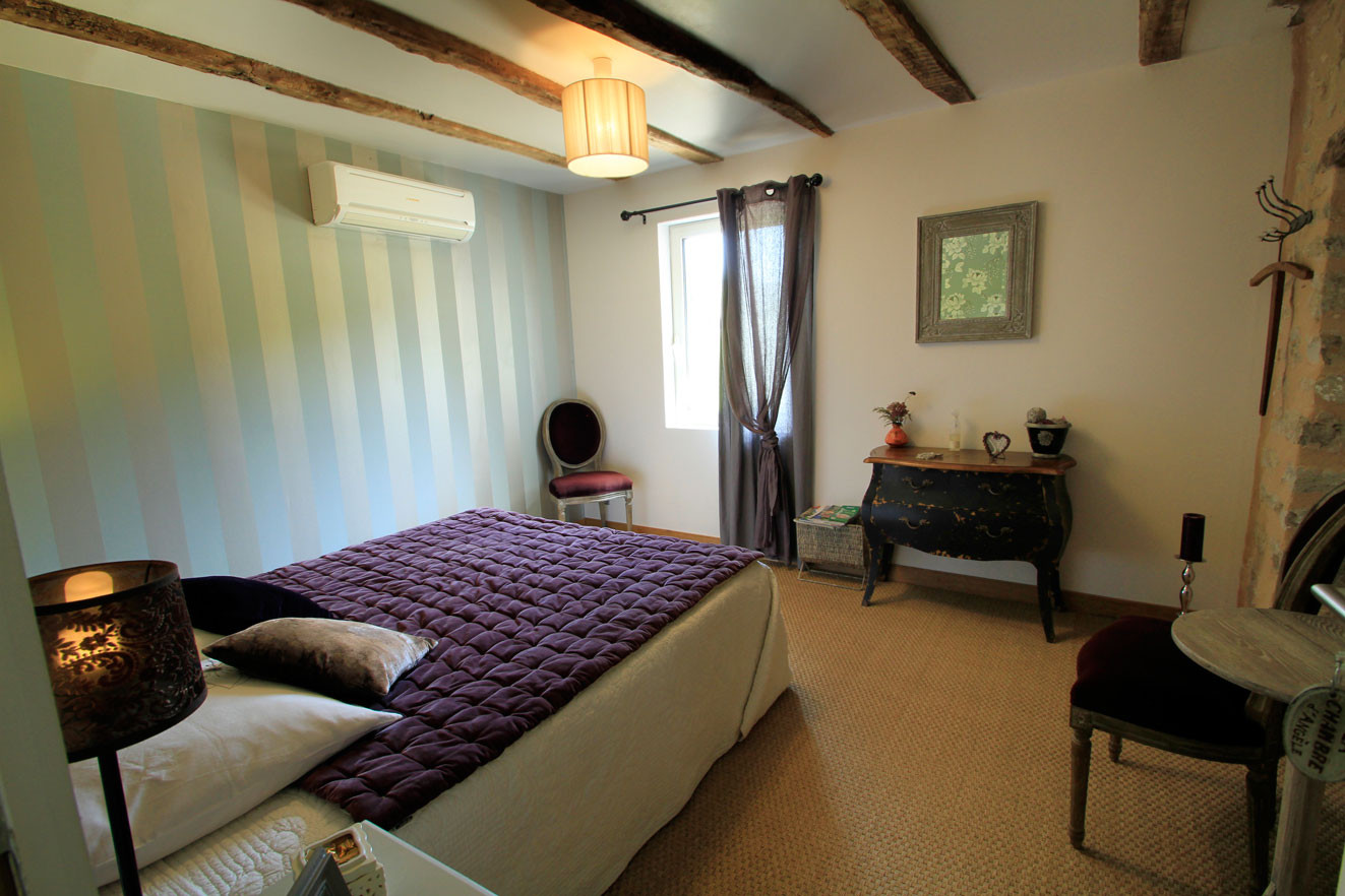 Chambre les Rêves d'Angèle, literie confortable en 160X200