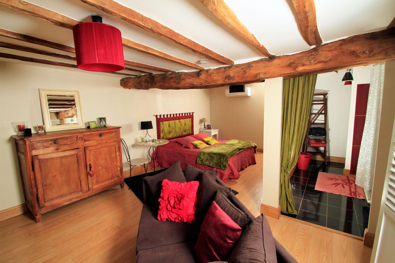 Maison-hôtes-Chambre-Mathilde-rez-de-chaussee-acces-facile