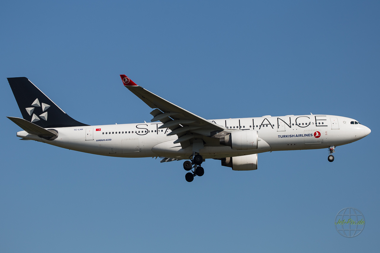 TC-LNB Turkish Airlines Airbus A330 Star Alliance