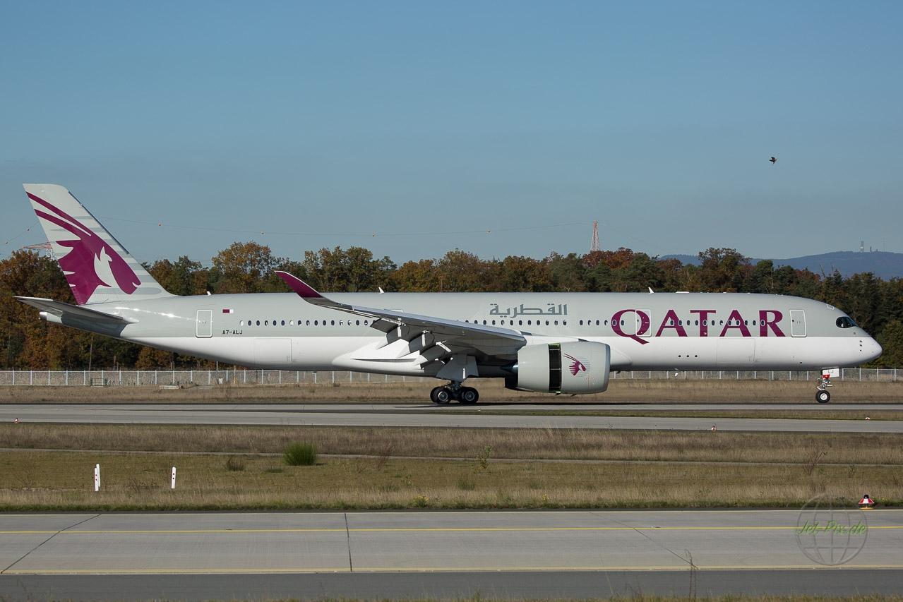 A7-ALJ Qatar Dreamlinder Frnkfurt Nordwest