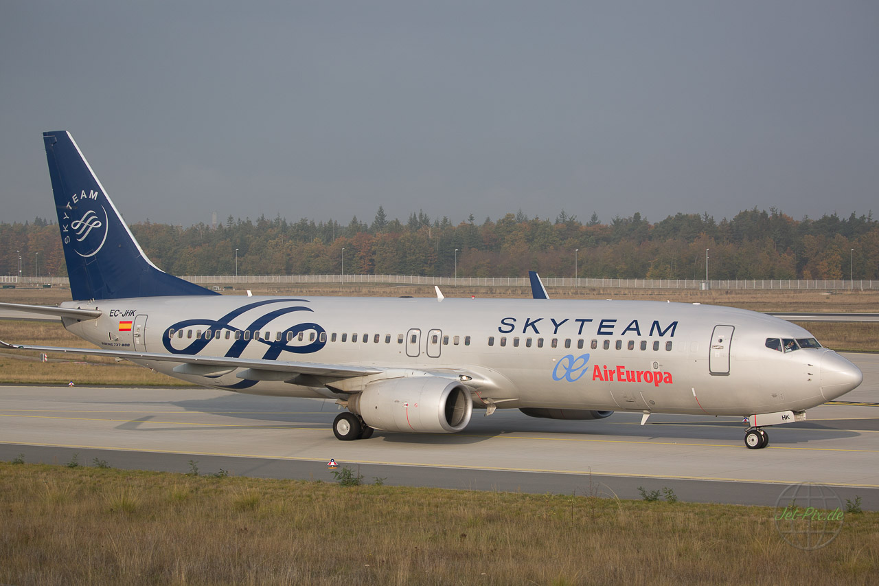 EC-JHK Air Europ Boeing 737 in Skyteam Look