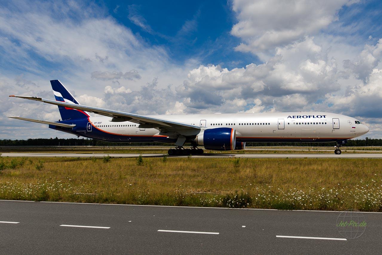 VP-BGF Aeroflot Boeing 777