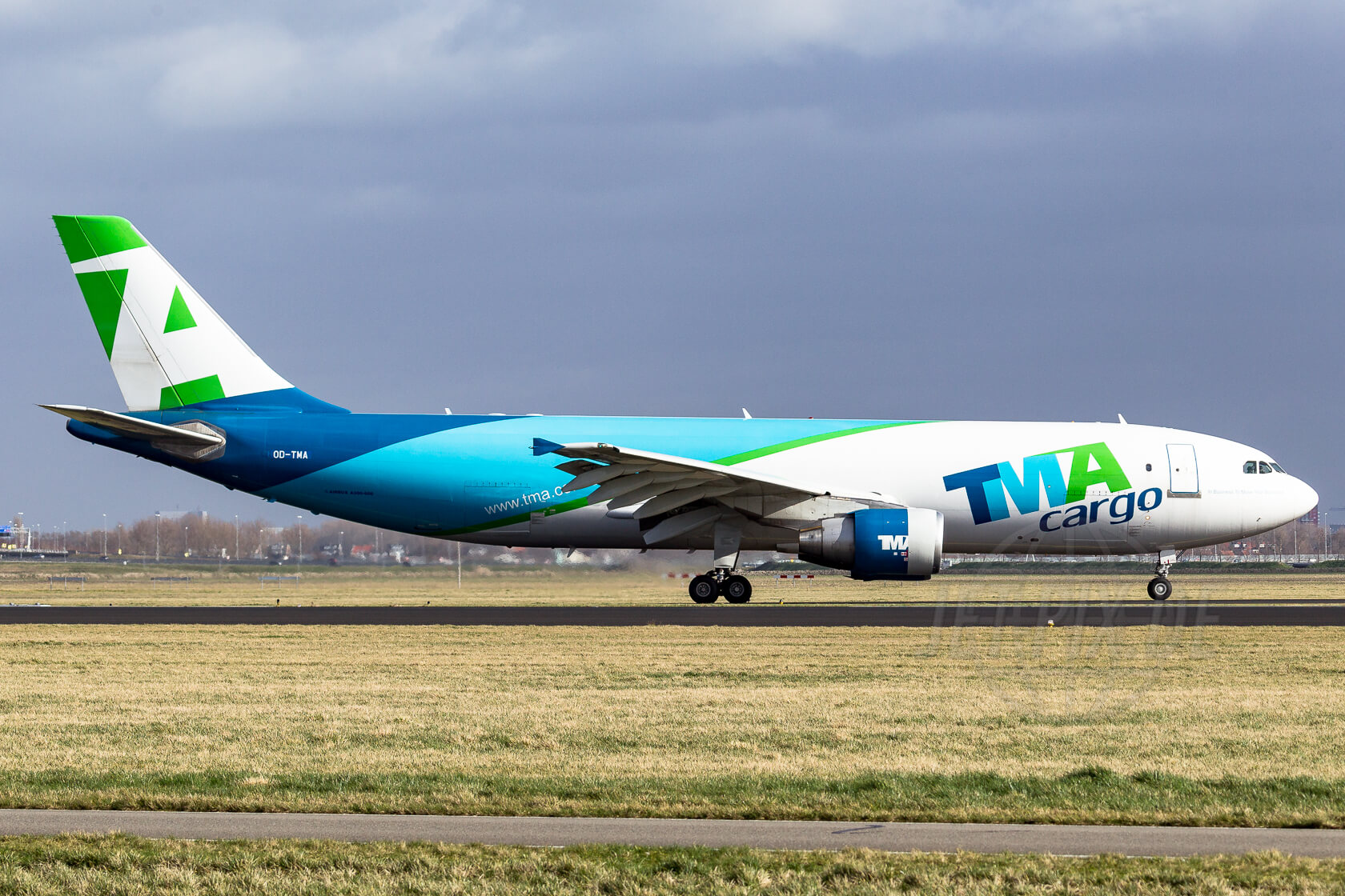 OD-TMA TMA Cargo Airbus A300 2014 02 15 EHAM Amsterdam Schiphol Polderbaan Spotting Spotter Guide Best Weather bestes Wetter Classic Klassiker Flieger Jet Plane