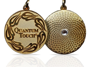 Quantum Touch Gold Pendant- To Buy It Clic Picture
