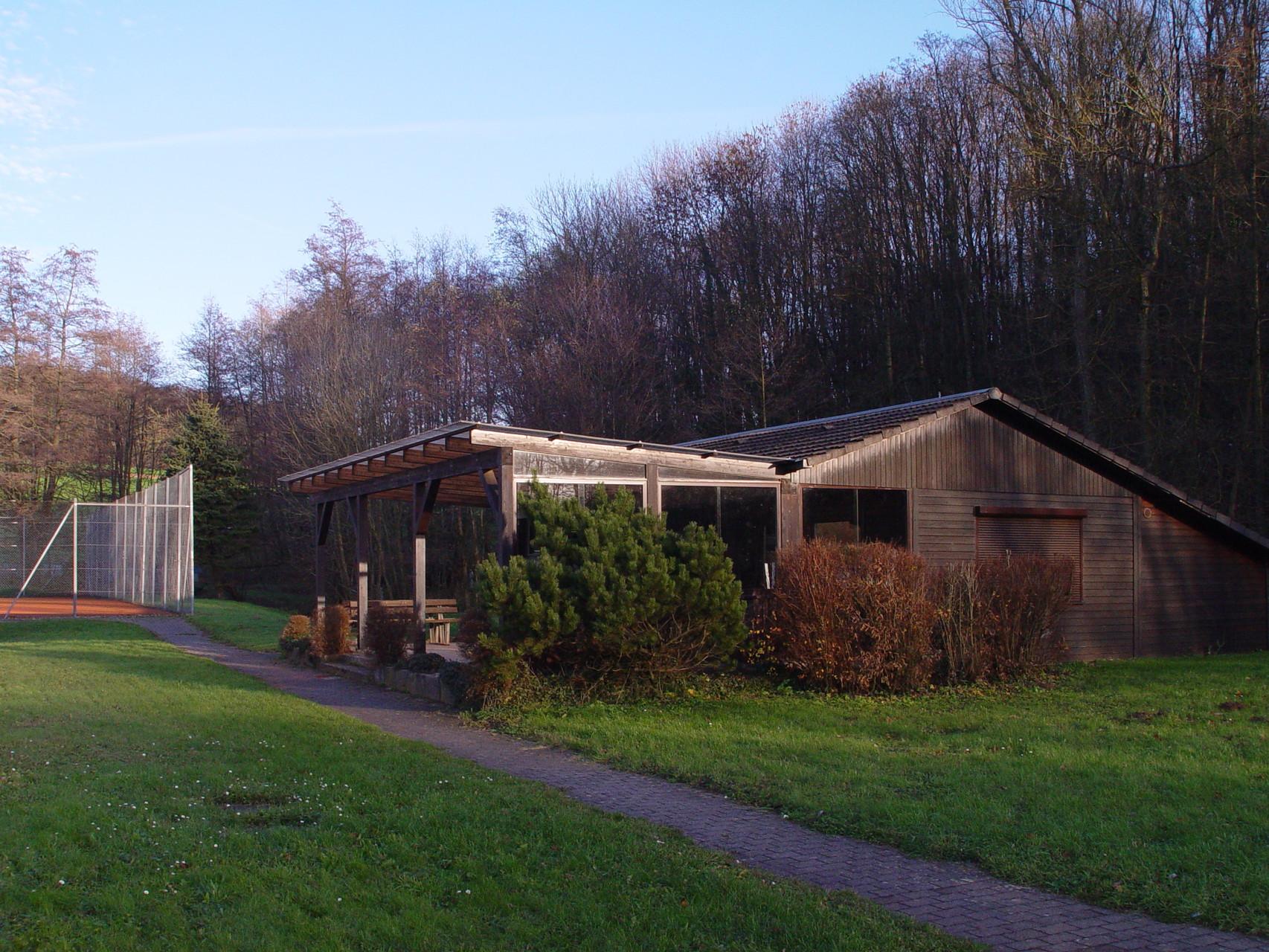 """Die """"Tennishütte"""""""