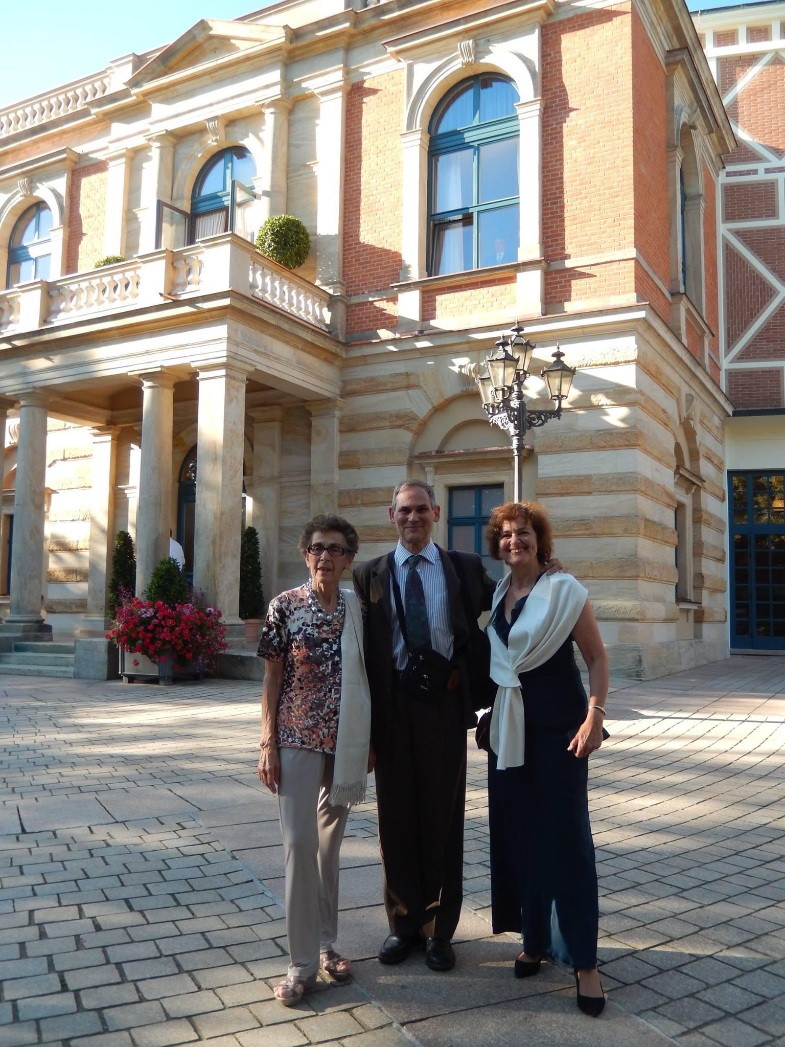 Hélène Boscheron, Dominique Hénon et Michel Demongeot
