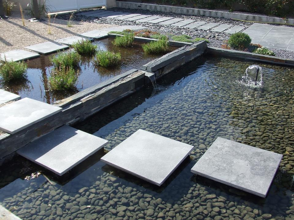 bassin et pas japonais