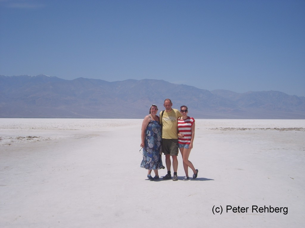 Badwater im Death Valley