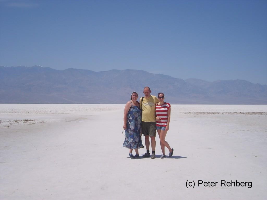Badwater im Death Valley