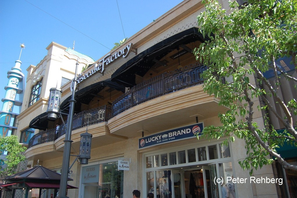 Los Angeles, Chesecake Factory