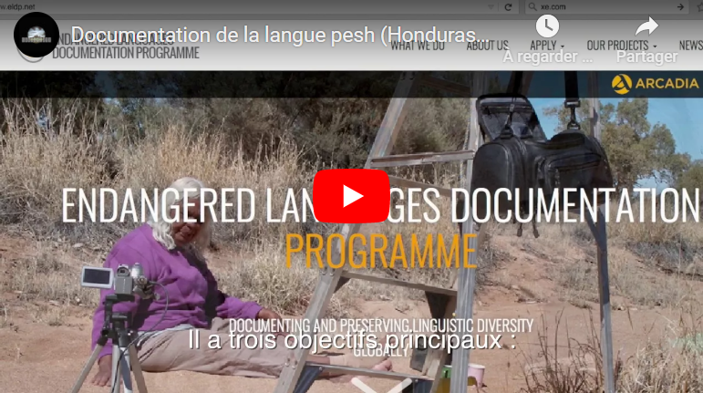 """Documentary: """"What came out of us came back in written form. Project to document the Pesh language""""."""