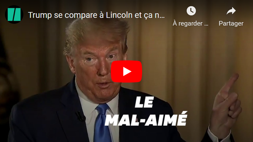 Donald Trump compares himself to Lincoln…