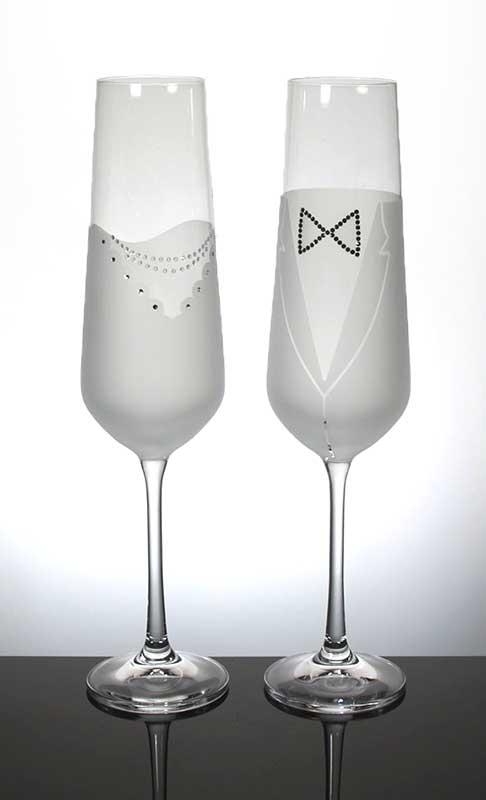 Sektglas Wedding Set