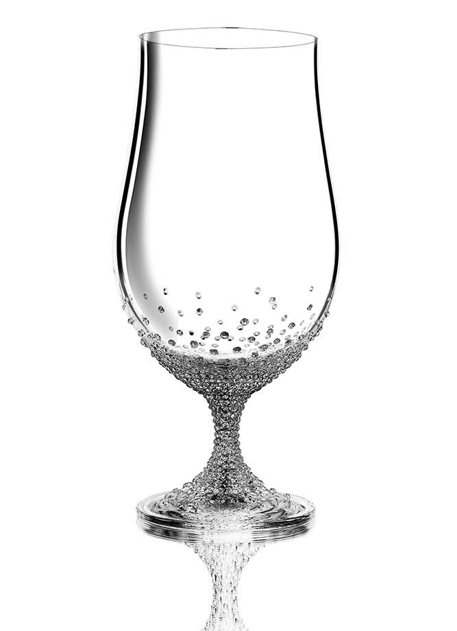 Cocktailglas Pontus veredelt mit Swarovski