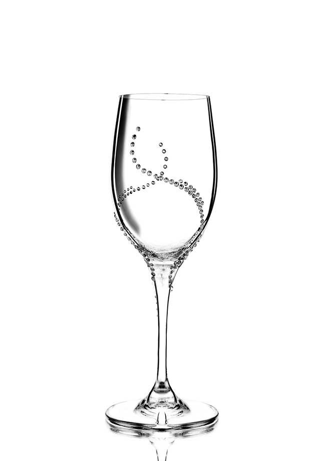 Weinglas Harmonia veredelt mit Swarovski