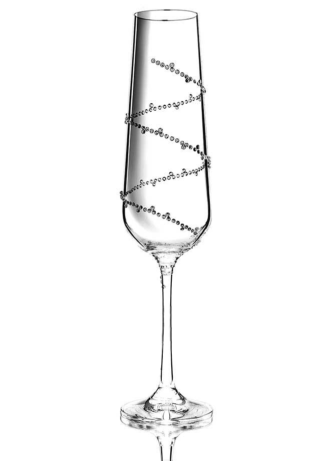 Champagner Tethys veredelt mit Swarovski