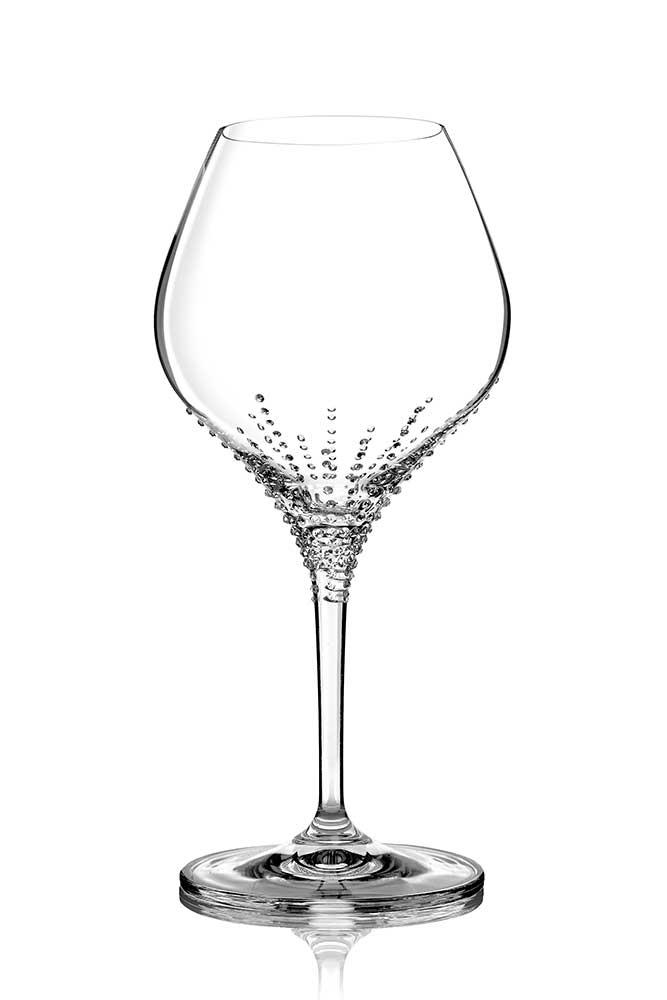 Weinglas Enyo veredelt mit Swarovski