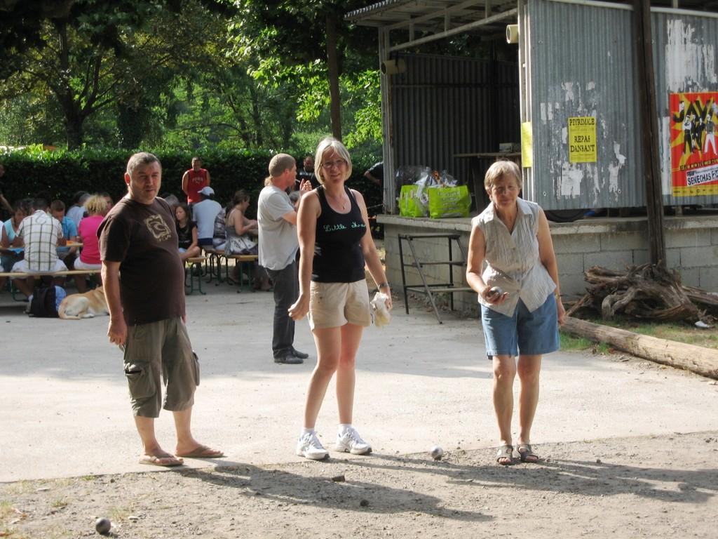 Concours de boules du 14 juillety