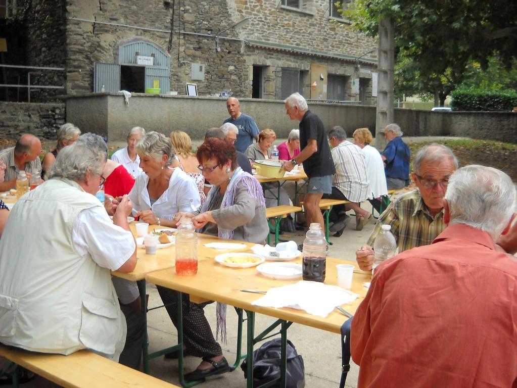 Journée du 10 septembre : repas des bénévoles