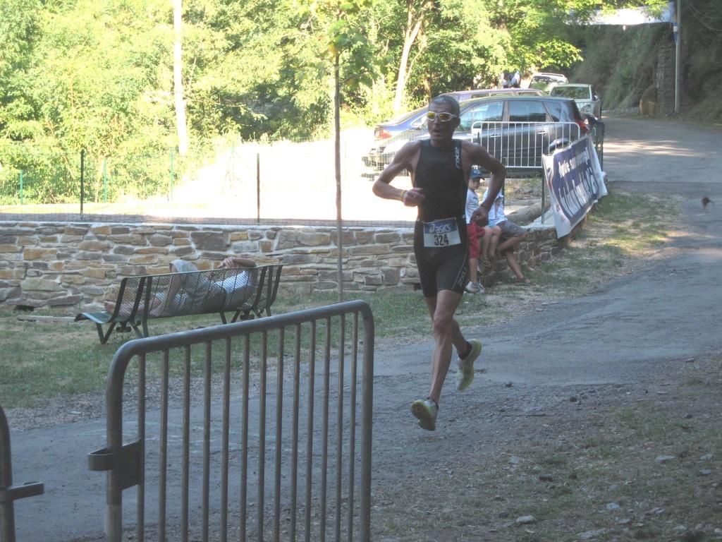 Arrivée du 1er coureur : Frédéric LEGUERN