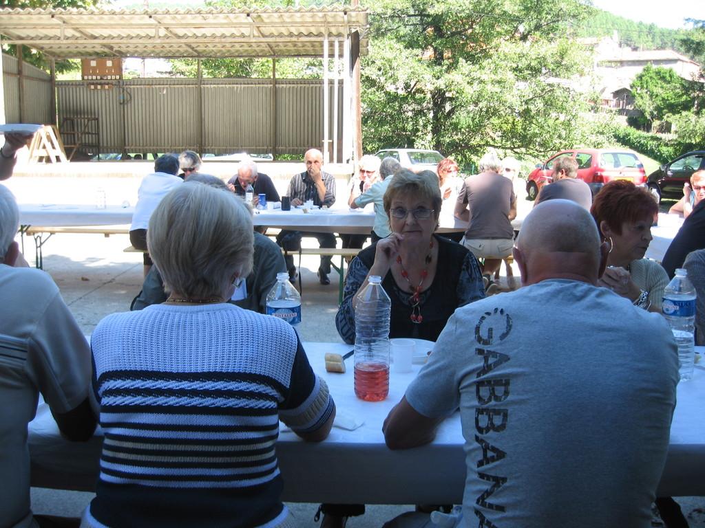 11 septembre : repas des bénévoles