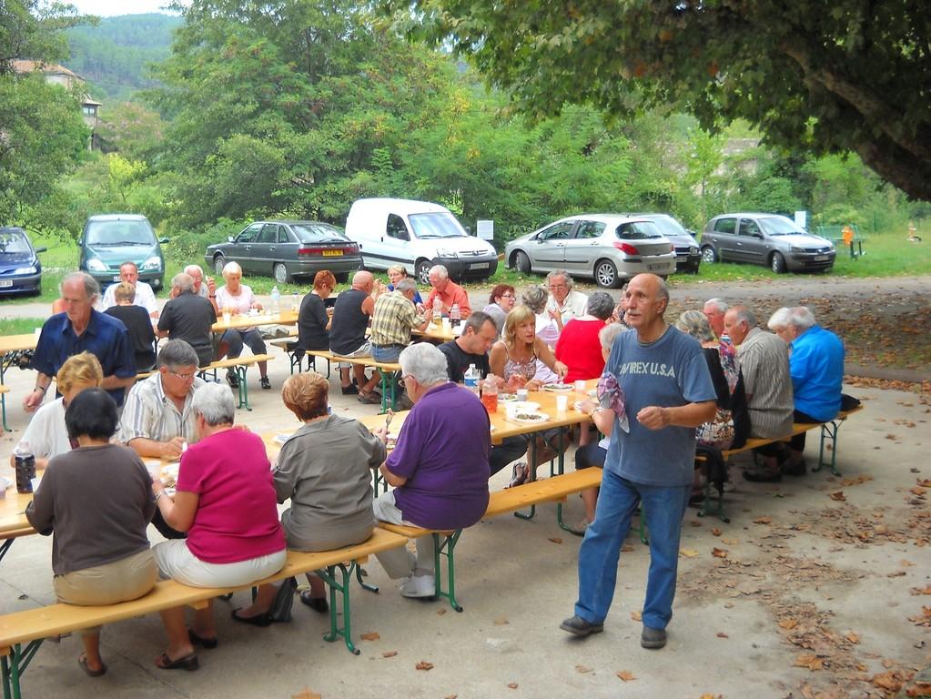 Journée du 10 septemre : repas des bénévoles