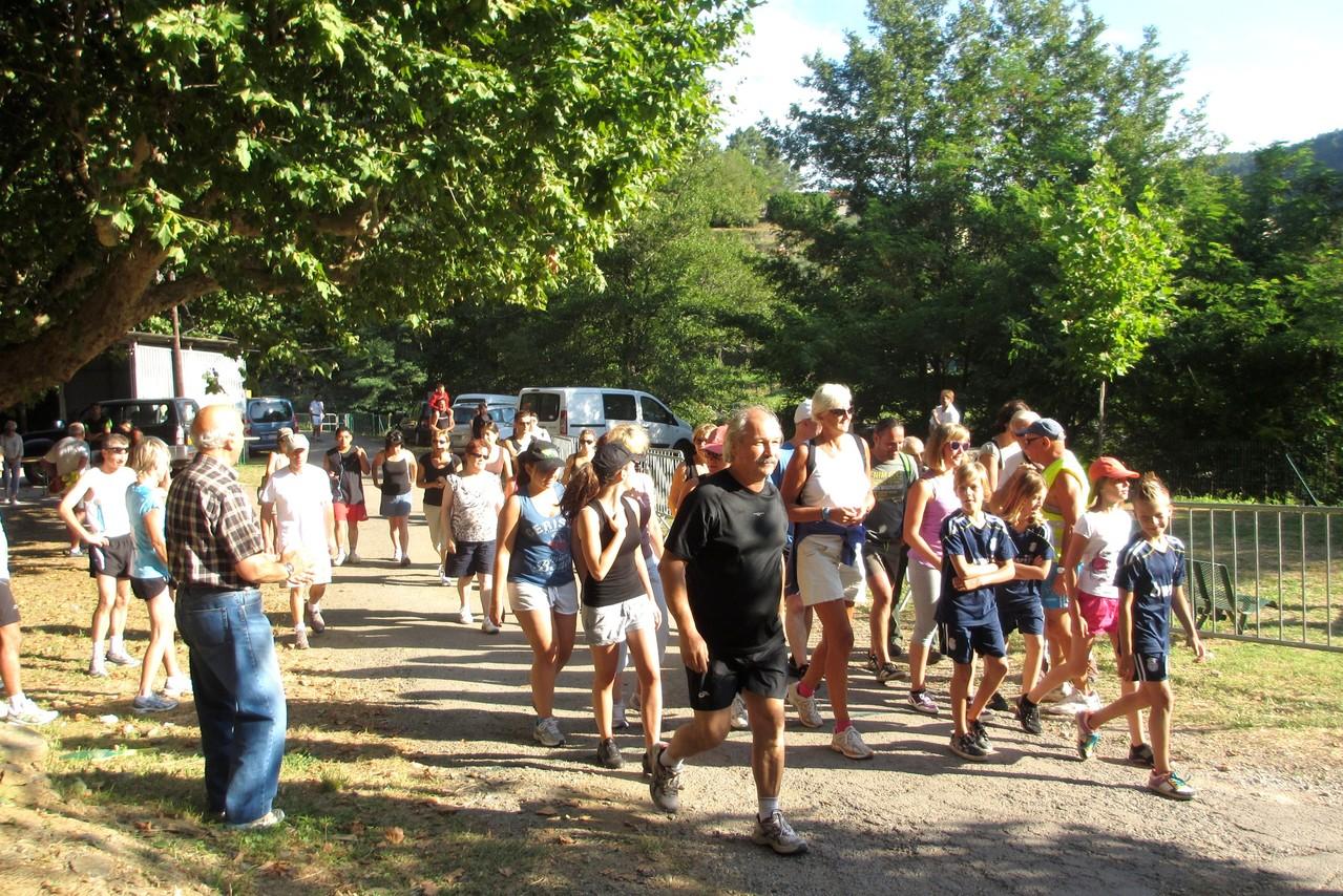 29 juillet : départ des marcheurs