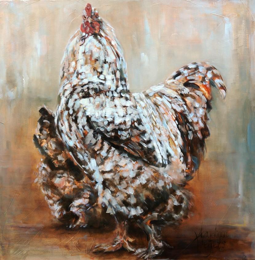 Expositie schilderijen bij Kok Wooncenter Hoogland/Amersfoort