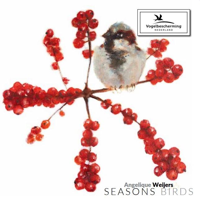 Kaartenmapje 'Seasons Birds'